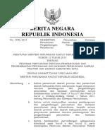 Permen Kemenpera Nomor 12 Tahun 2014 (Kemenpera Nomor 12 Tahun 2014 )