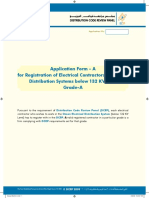 Application for Electrical Contractors Registration Grade-A