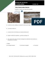 Ficha 2. Tema 3 Principales Estructuras Geológicas
