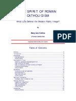 The Spirit of Roman Catholicism -- Ltr