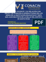 DESEMPEÑO DOCENTE Y SU RELACIÓN CON DÉFICIT DE ATENCIÓN CON HIPERACTIVIDAD