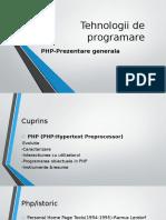Tehnologii de Programare