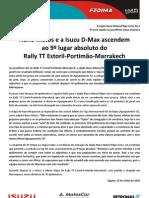 Press Nuno Matos 10.06.12 Etapa 7 Estoril-Marrakeche