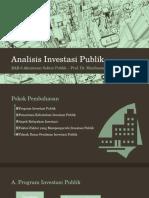 Power Point Investasi Sektor Publik