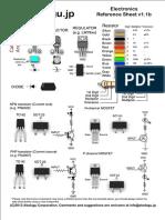 Electronics Reference Sheet v1.1b [Akafugu.jp]