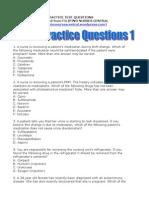 NCLEX Practice Questions 1