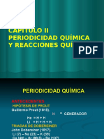 tabla periodica y reacciones quimicas