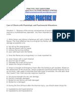 Nursing Practice IV