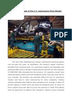 Automobile Parts Market in US