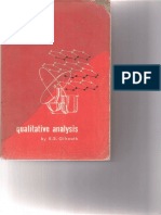 Qualitative Analysis by Gilreath