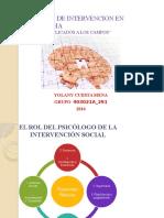 Modelos de Intervencion en Psicologia Yolany