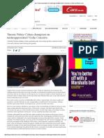 Tamsin Waley-Cohen Champions an Underappreciated Violin Concerto. _ Classical-Music