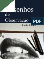 Livro Desenhos de Observação