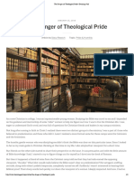 The Danger of Theological Pride _ Desiring God