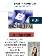 Curiosidadesd Biblicas en Power Point 2