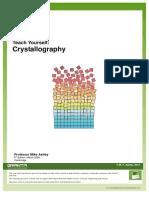Teach Yourself Crystallography