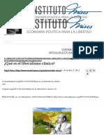 ¿Qué Es El Liberalismo Clásico_ __ Instituto Mises