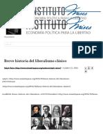 Breve Historia Del Liberalismo Clásico __ Instituto Mises