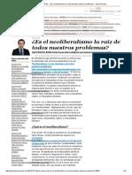 Juan Ramón Rallo - ¿Es El Neoliberalismo La Raíz de Todos Nuestros Problemas_ - Libre Mercado