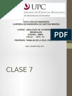 7.- Yacimientos Tipo Skarn en El Perú