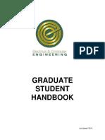 Graduate Student Handbook