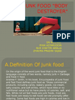 The Junk Food Ppt
