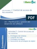 Control Acceso BD