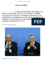 PEC 241_ a Ofensiva Do Capital – Blog Da Boitempo