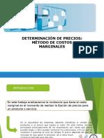 Determinacion de Precios - Metodo Costos Marginales