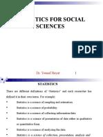 1. Basic Statistics