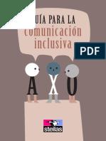 Guia para lenguaje inclusivo