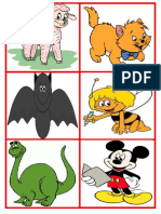 Animals Flashcards I A