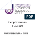 Script German