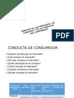 ANÁLISIS DE LOS MERCADOS  DE CONSUMO Y DE LA CONDUCTA DEL COMPRADOR