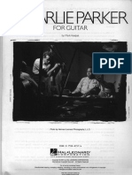 (Real Book) Charlie Parker - For Guitar.pdf