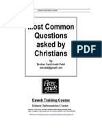 Most Common Questions Asked by Christians1