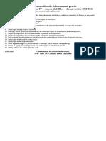2015-2016 an IV Sem II Lista Cu Subiectele de La Examenul Practic Rom