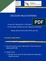 9.1. Teoria de La Decision Multicriterio
