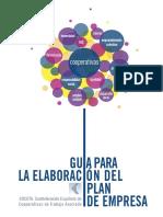 Emprendecoop Guia Elaboracion Plan Empresa
