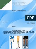 Protesis Miembro Inferior