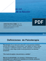 Bases Psicodinamicas Psicoterapia SPA.