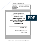 Entree Agreg AnalyseProba Juillet2014