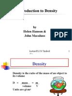Density Intro