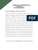 """Franco Migues y Orozco Gómez, Guillermo (2009) """"La telenovela de la ciudadanía y la ciudadanía en la telenovela"""""""