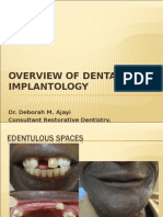 0verview of Dental Implantology (1)