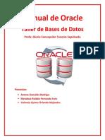 Manual Bases de Datos Oracle Master Golden