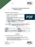 Requisitos de Inscripcion Maestria Homologacion (2016)