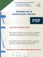Estudio de La Contracción Uterina