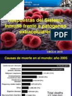 Respuestas Inmunes Frente a Patógenos Extracelulares 2016 MS