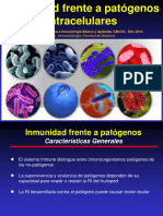 Inmunidad Frente a Patógenos Intracelulares 2016